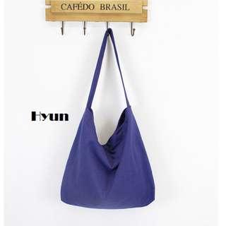 Hyun Canvas Sling Bag.