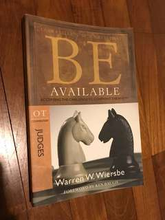 Be Available by Warren W. Wiersbe