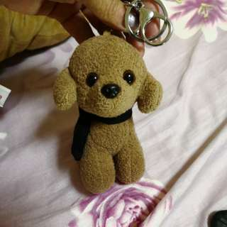 Key chain or handbag dog