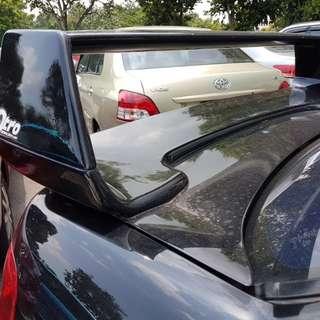 Subaru spoiler STI