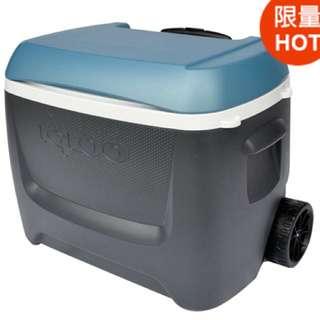 $1799 Igloo 美國製58公升滾輪式冰桶 #1013656