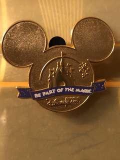香港迪士尼員工限定徽章