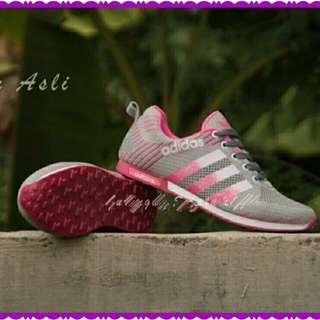Sepatu Ads Zebra Abu