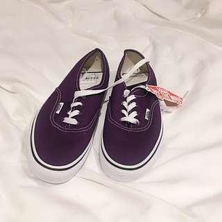 Purple Vans Sneaker