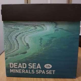 Dead Sea Minerals Spa Set