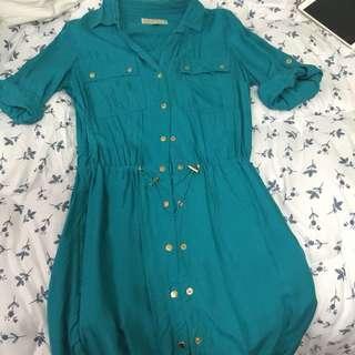 Michael Kors Button Dress