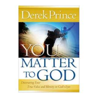 [eBook] You Matter To God - Derek Prince