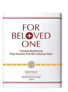 For beloved one flawless brightening ethyl ascorbic acid bio-cellulose mask