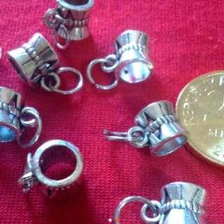 10 Pcs Pandora Inspired Charm Chain