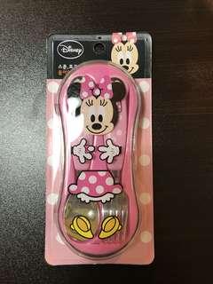 韓版 Minnie Mouse 餐具(匙羹+叉)