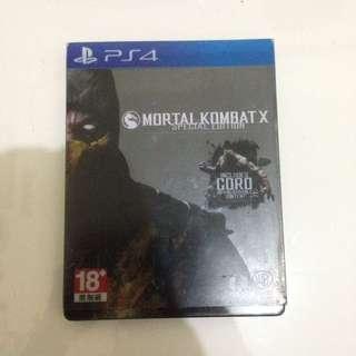 Mortal Kombat X Steel Case PS4