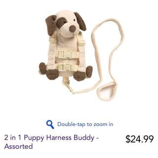 2 in 1 puppy harness buddy-assorted
