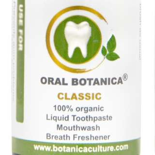 Oral Botanica  CLASSIC - 100% ORGANIC floride free Toothpaste replacement (Free Salad for first-time local customers)