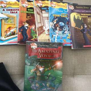 geronimo stilton for sale!