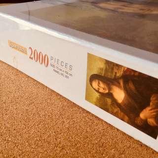 Mona Lisa Jigsaw Puzzle 2000 Pieces