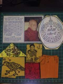 Talisman amulet cloth wishing lot