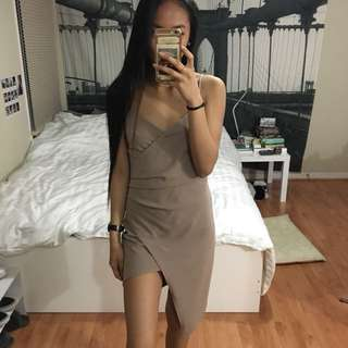 M Asymmetrical Dress