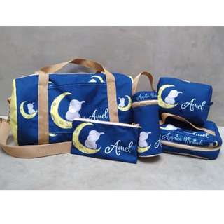 Personalised Canvas Pouch, Sling Bag, Duffle Bag, Lunch Bag & Bottle Bag