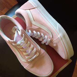 Vans pink old skool