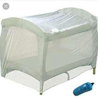 Mosquito net for baby's crib