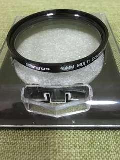58mm UV Lens Filter.