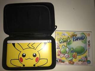 Limited Edition Pikachu Yellow Nintendo 3DS XL [LAST MARKDOWN PRICE]