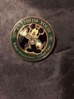 東京迪士尼premium tour 徽章