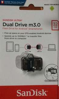 Sandisk Ultra 32gb Dual Drive m3.0 otg for android devices