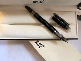 Montblanc Skywalker Midnight Dark Roller Pen 100% new