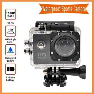 GO PRO STYLE Sports Cam Full HD 1080p [BLACK]