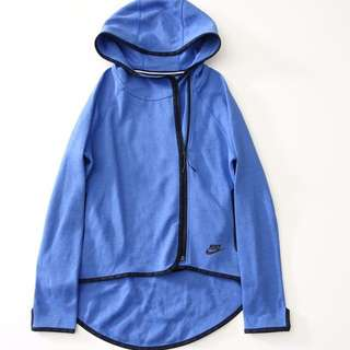 美國【NIKE】藍色連帽外套S