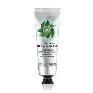 The Body Shop - Fuji Green Tea Hand Cream