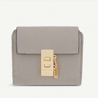 CHLOE DREW SQUARE LEATHER PURSE