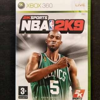 New/Sealed Xbox 360 NBA2K09