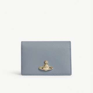 Vivienne Westwood Pimlico grained leather card holder