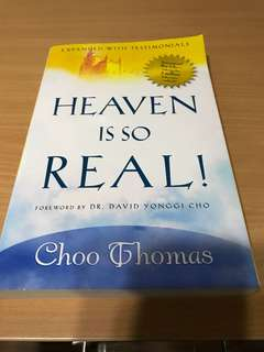 Heaven is so real! By Thomas Choo