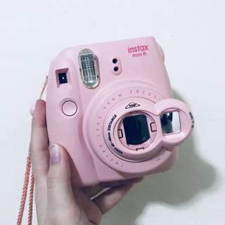 Instax Mini 8 Baby Pink
