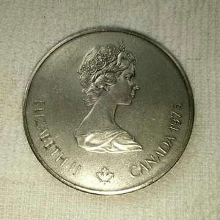 Canada Commemorative Silver 5 Dollar