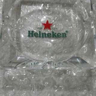 Asbak Kaca Tebal Heineken