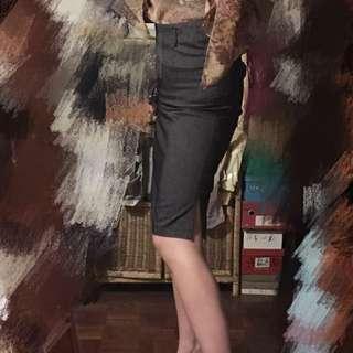 上班族合身有型窄裙Mng mango zara iroo moma wanko
