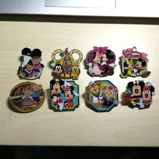 Disney pins 迪士尼襟章 徽章