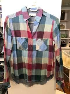 H&M Checkered Polo Shirt - Preloved, Good