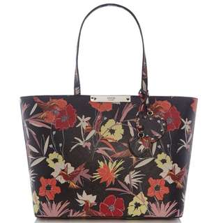 Guess britta flower tote bag