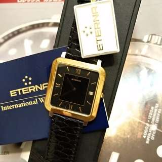 Eternal Quartz Watch 18k Bezel