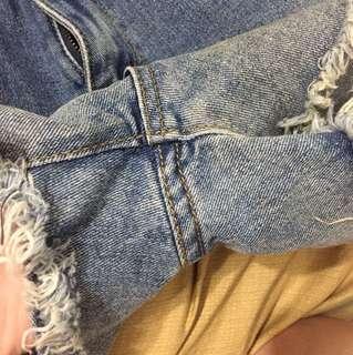 高腰s號漸層短褲
