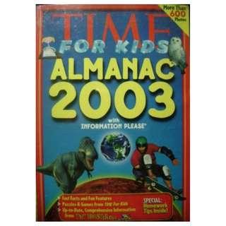 TIME ALMANAC FOR KIDS