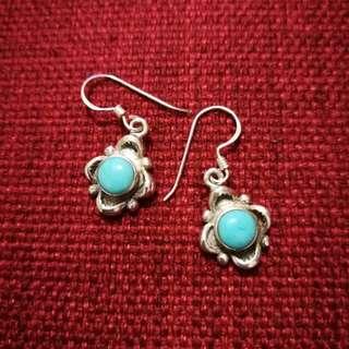 Sterling silver earrings dangled 925 純銀耳環