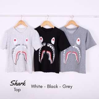 SHARK TOP (GREY)