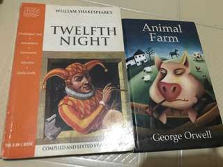 Twelfth Night and Animal Farm