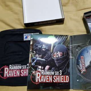 PC Games Rainbow 6 Raven Shield.